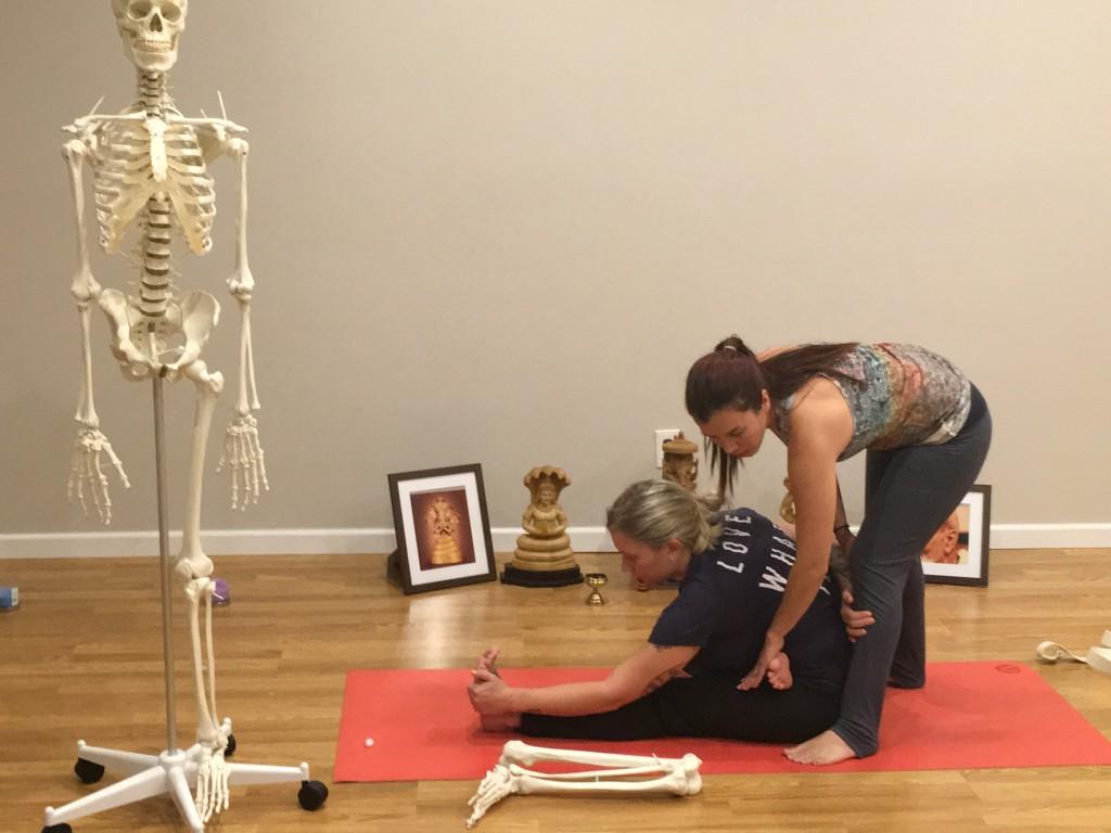 Adjustments of seated postures