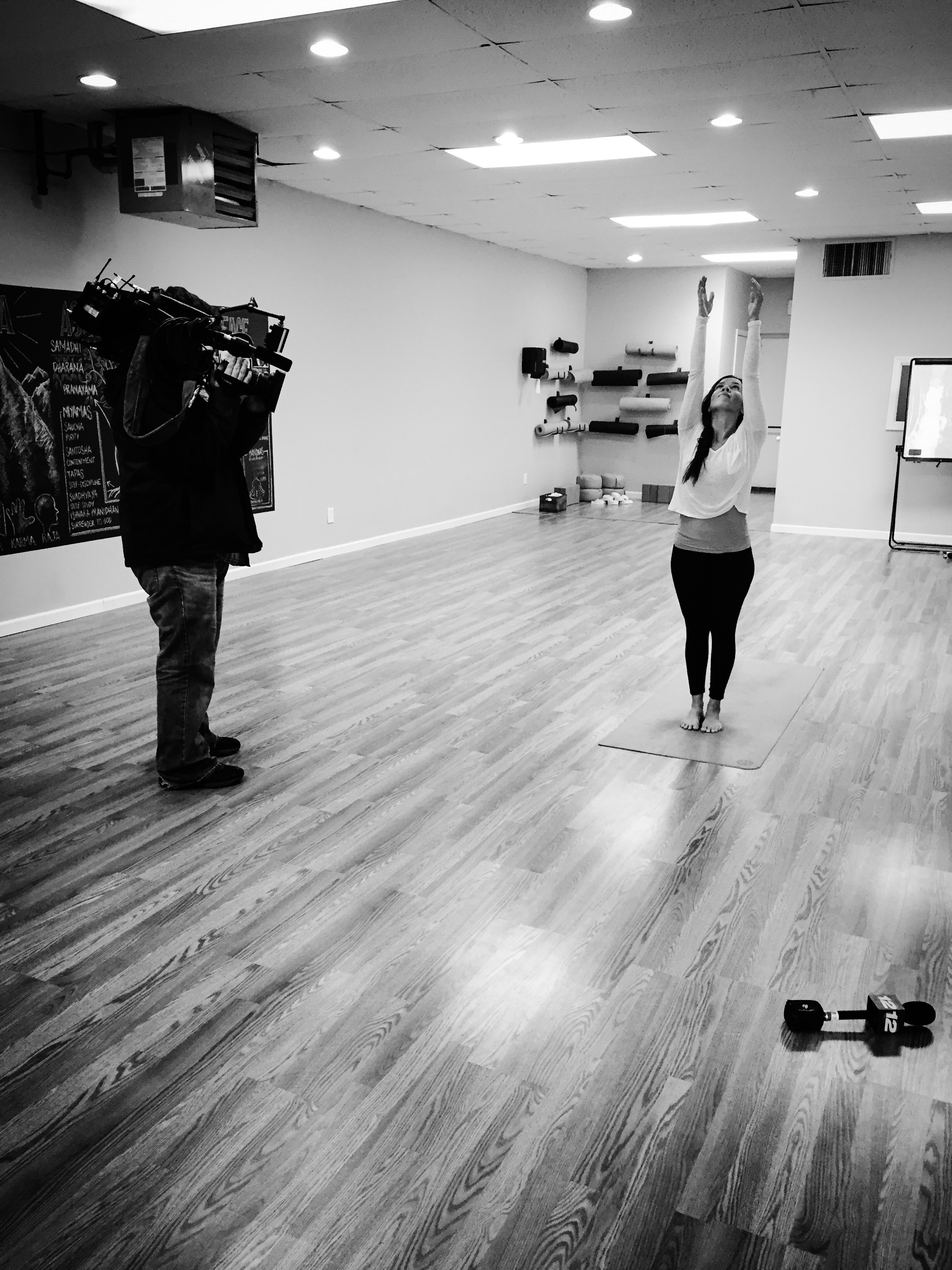 News 12 at Ashtanga Yoga Long Island